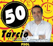 #Tárcio_50_Governador
