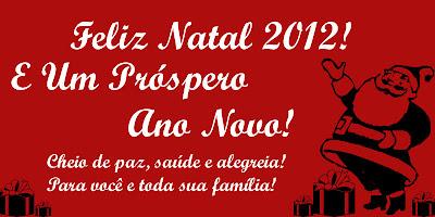Cartão de Natal 2013: Modelos Grátis para imprimir - Cartão Vermelho