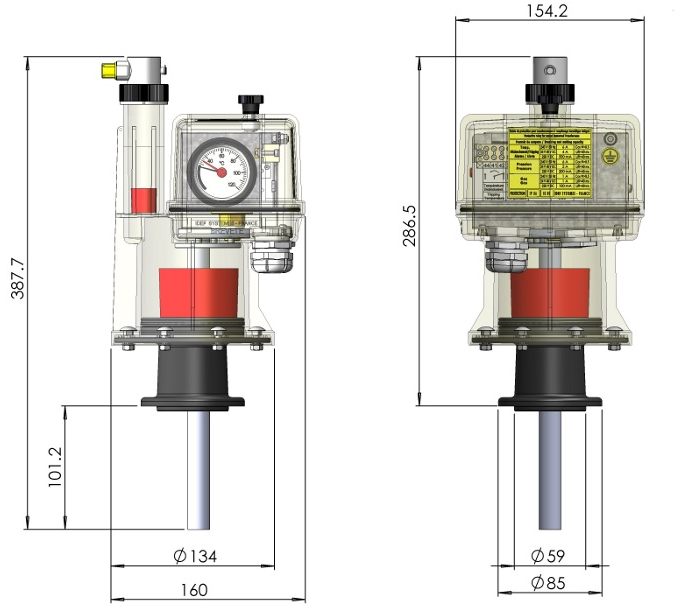 D M C R  Protection Relay for Oil Transformer
