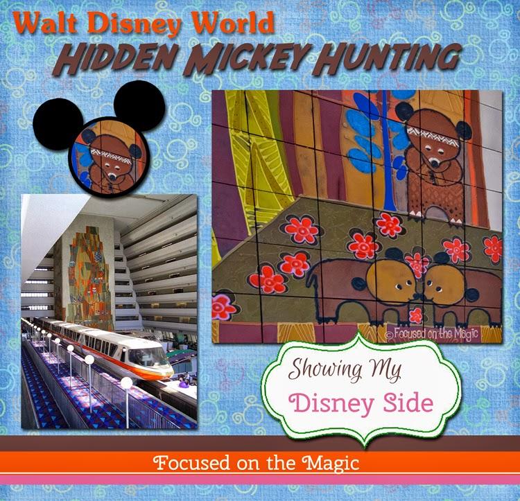 My Disney Side: Contemporary Resort Hidden Mickey Hunting