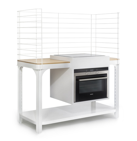 Concept modular kitchen by Kilian Schindler ~ Modernistic Design
