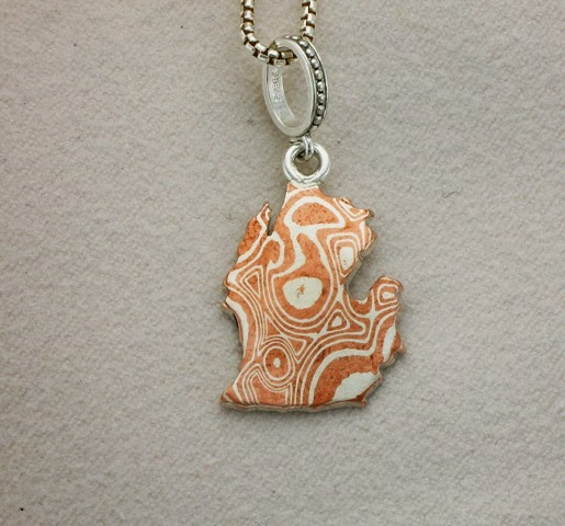 Mokume Gane Earrings: Chimera Design: Some Fresh Mokume Gane
