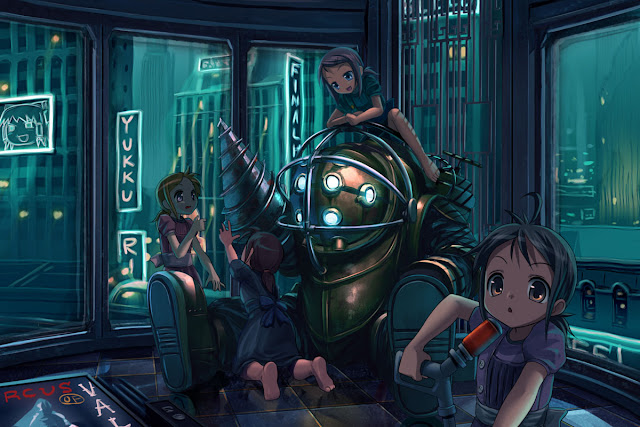 bioshock 2k first person shooter game