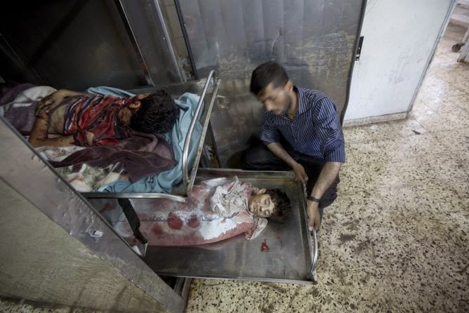 Crianças palestinas vítimas do estado terrorista de Israel