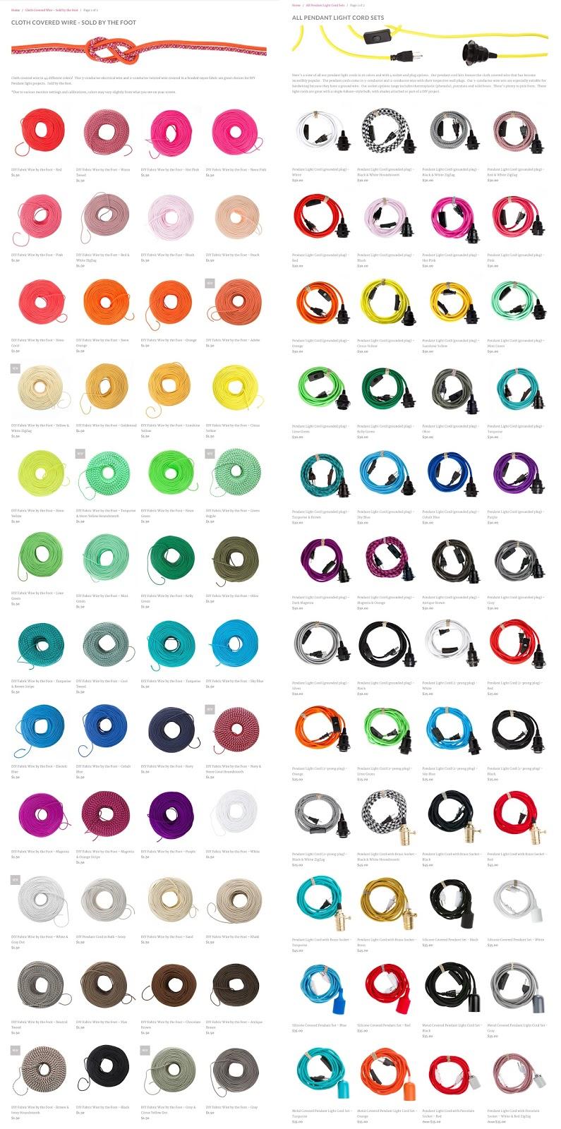 beautiful, colorful pendant lamp round up