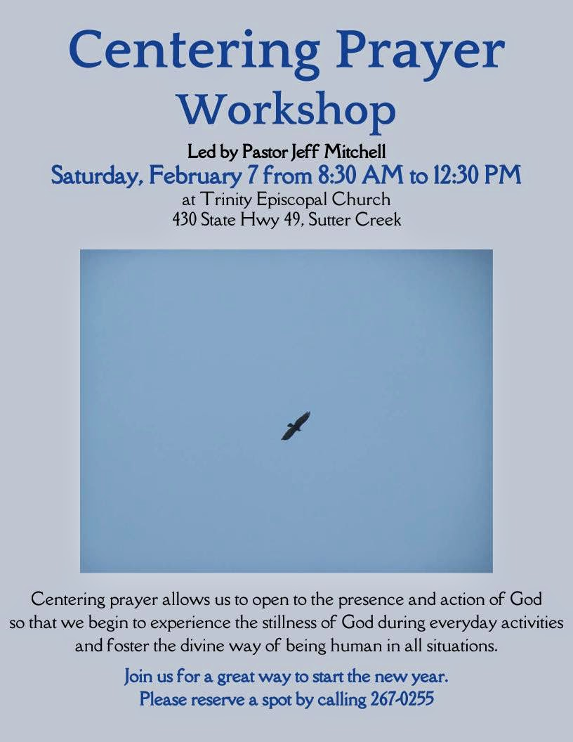 Centering Prayer Workshop - Sat Feb 7