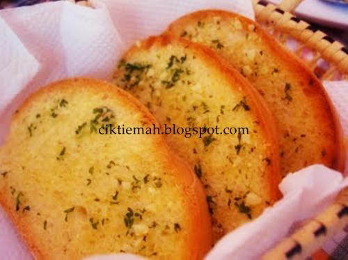 Resepi masakan Garlic Bread