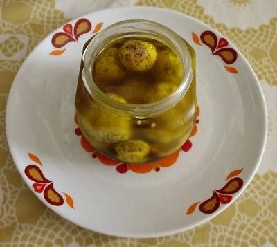 Bolinhas de queijo de kefir no azeite