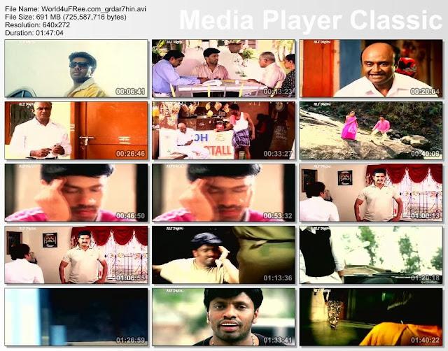 Main Hoon Gaddaar 2014 Hindi Dubbed WebRip 700mb