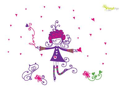 Vinilos decorativos infantiles florales y de adultos for Dibujos decorativos de navidad