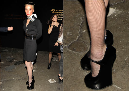 6 inch high heels black pump - 3 6