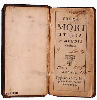 thomas mores utopia analysis Utopia & utopian literature sir thomas more share home  setting the stage bookmark this page  analysis the setting and the characters — all but one.