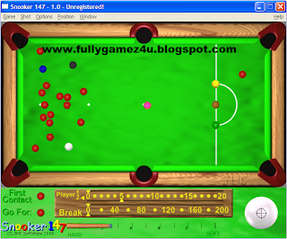 Download Free Snooker 147 Game For PC
