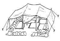 Diveros tipos de moradia-tenda