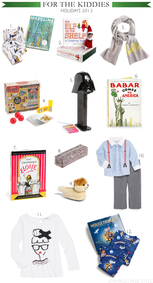 Sprinkles and Style || Holiday Gift Guide: For the Kids