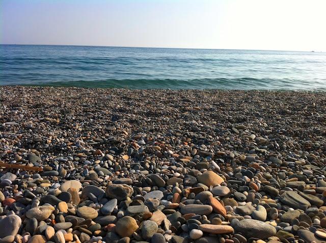 Plaża w Nerja, Andaluzja