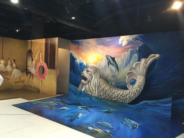 trick eye museum singapore review