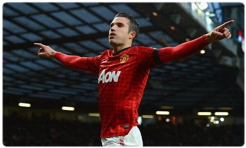 Van Persie is going to stay in the Manchester United till the end of the season