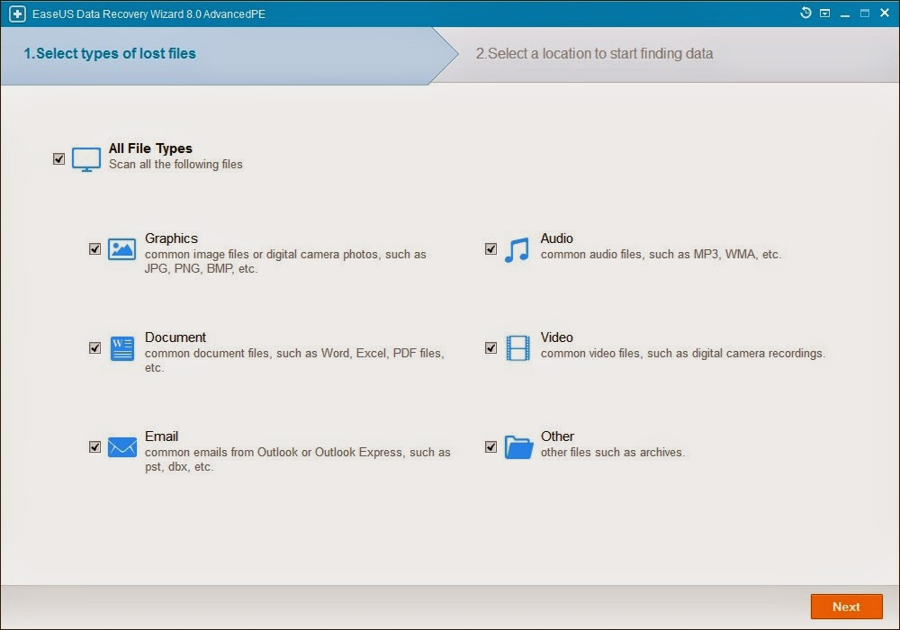 Download EaseUS Data Recovery Wizard Professional 8.0