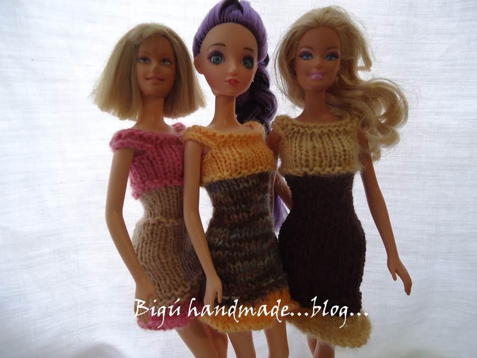 Bigú Handmade: Vestido para barbie \