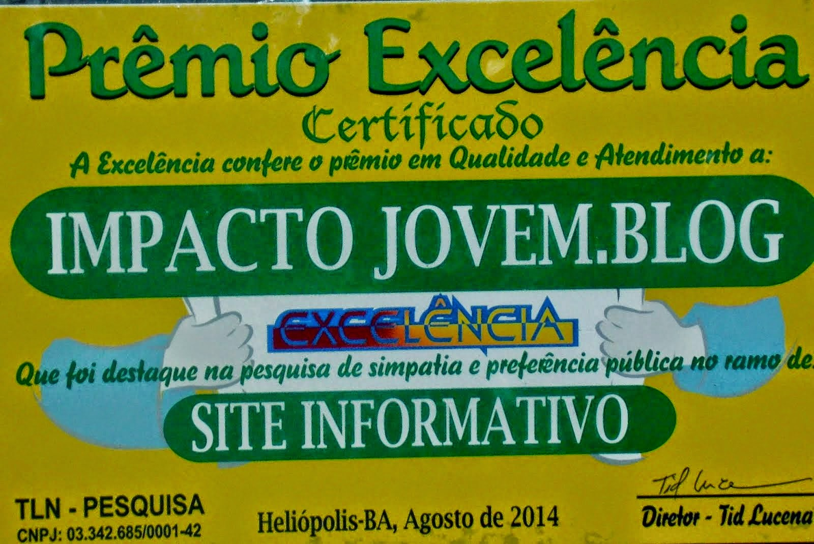 Parabéns, Jorge Souza!