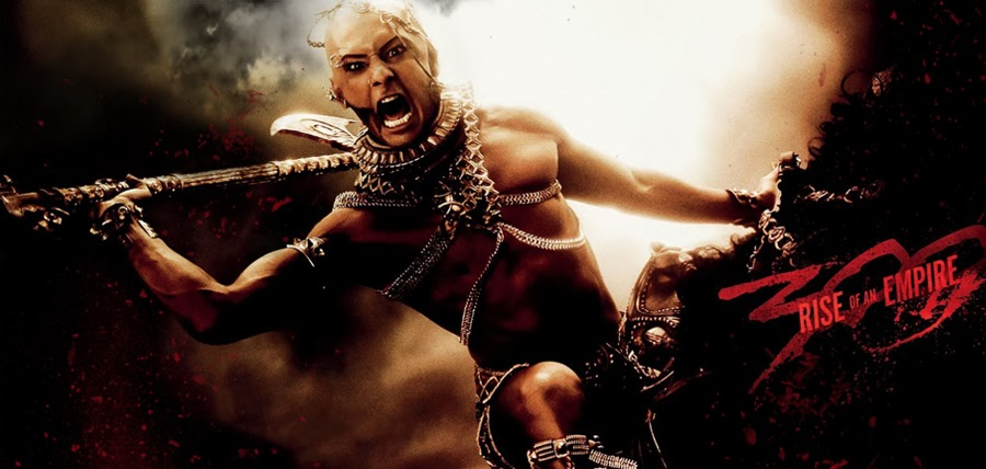 Xerxes (Rodrigo Santoro) în 300: Rise Of An Empire