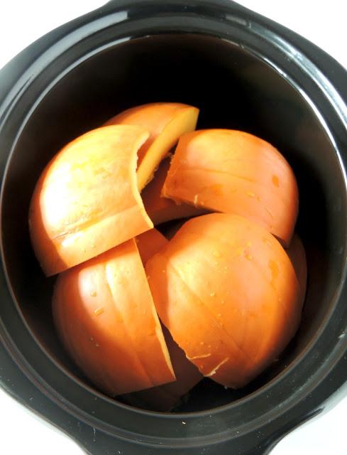 Slow Cooker Pumpkin Puree from www.bobbiskozykitchen.com