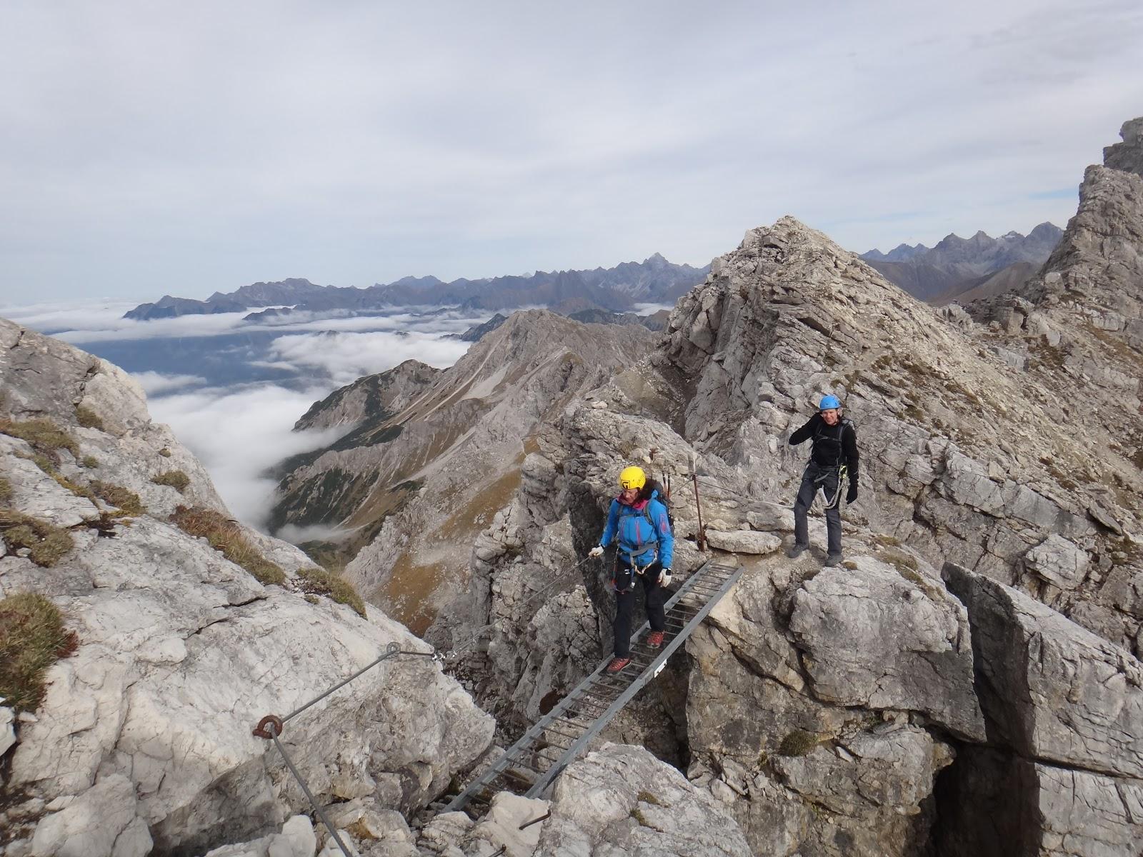 Klettersteig Mindelheimer : Gipfeljagd klettersteig mindelheimer schafalpenkopf
