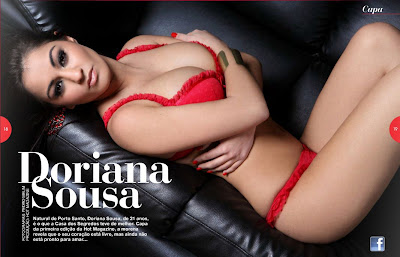 Doriana Sousa Hot Magazine