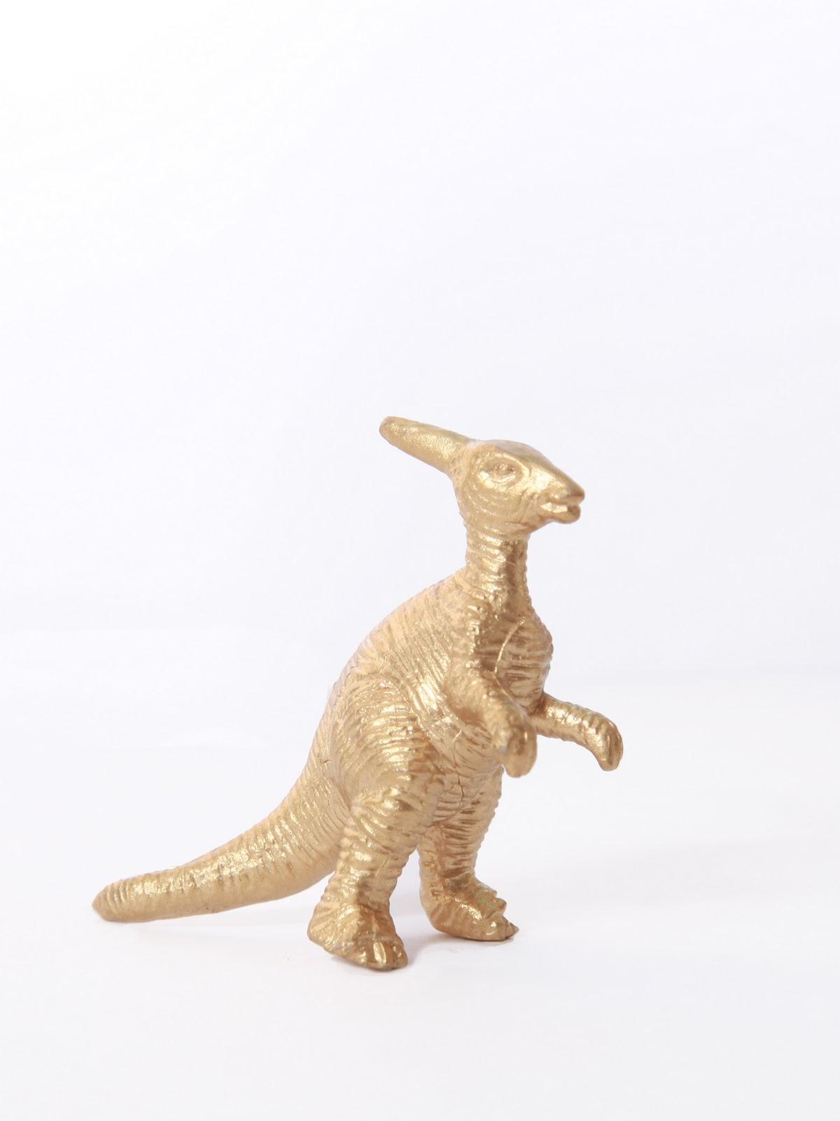 Gold Dinosaur