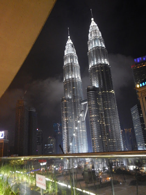 Hotel Maya Kuala Lumpur sky lounge view