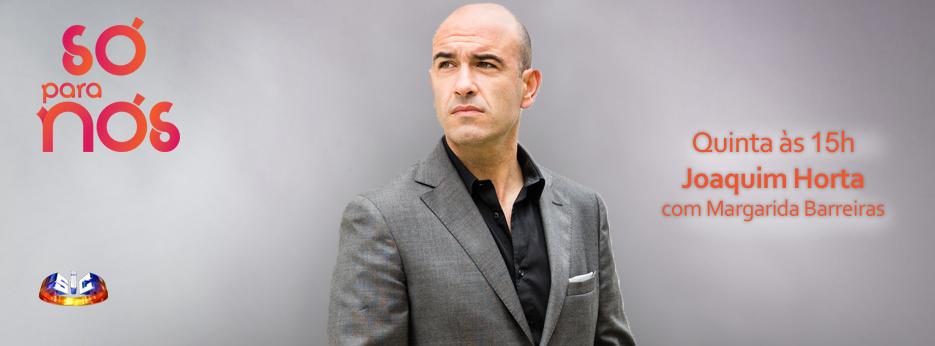 Joaquim Horta, esta quinta-feira na rubrica Online 'Só Para Nós'!