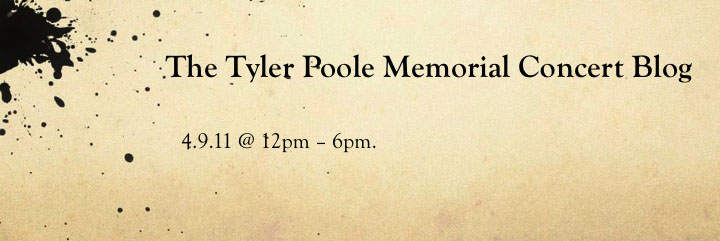 The Tyler Poole Memorial Blog
