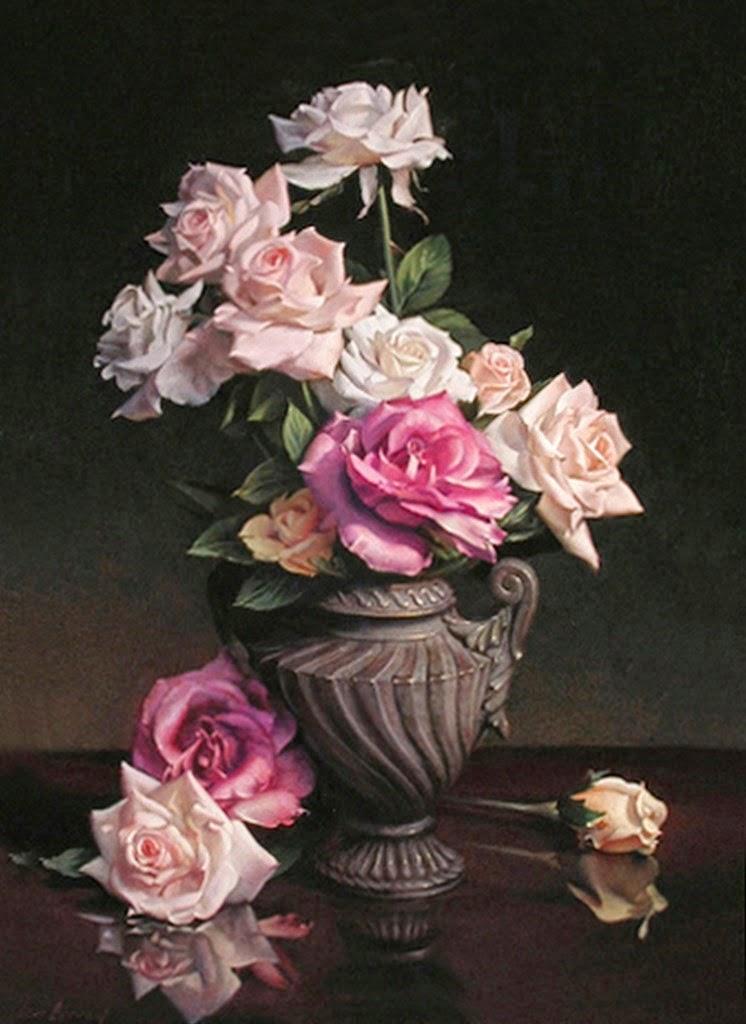 rosas-cuadros-al-oleo