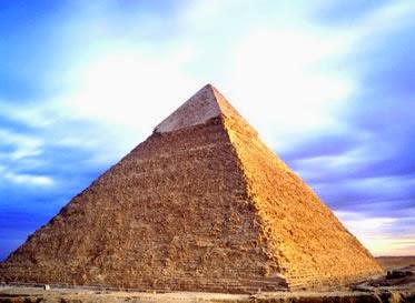 A piramide de Giza tem uma mensagem para todos nós