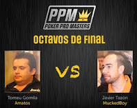 poker pro masters octavos de final 4 mayo