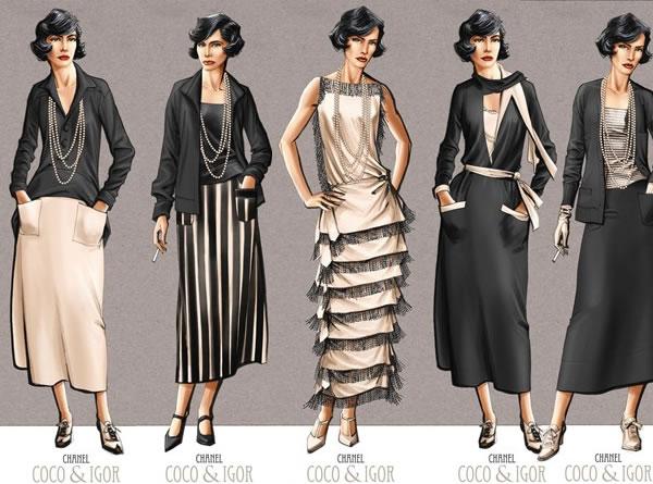 Goddess of Fashion : Coco Chanel - photo #35