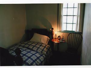 dormitorio de la madre de Edgar Allan Poe