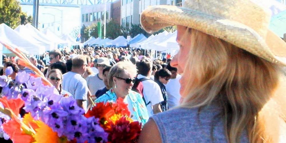 FLowergirl+Fremont+Sunday+Market