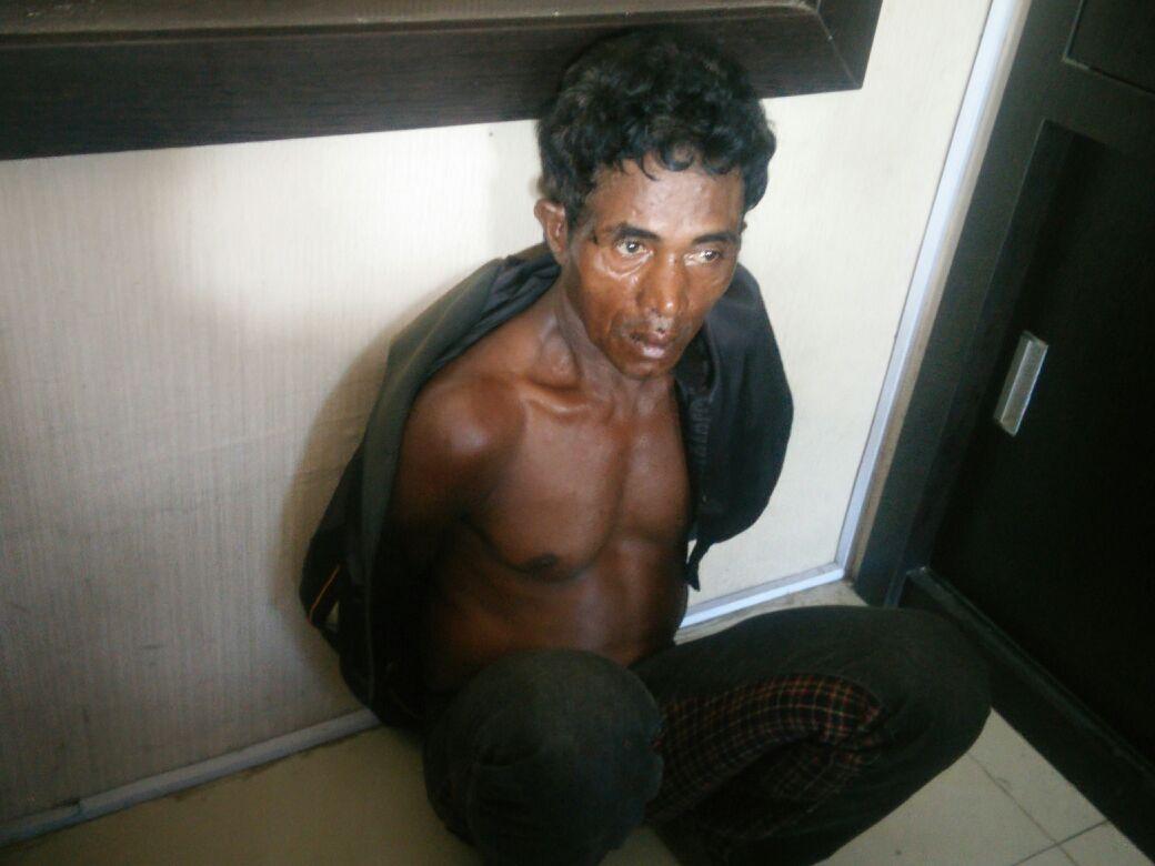 Anak Ingusan Dicabuli Pelaku Ditangkap Warga