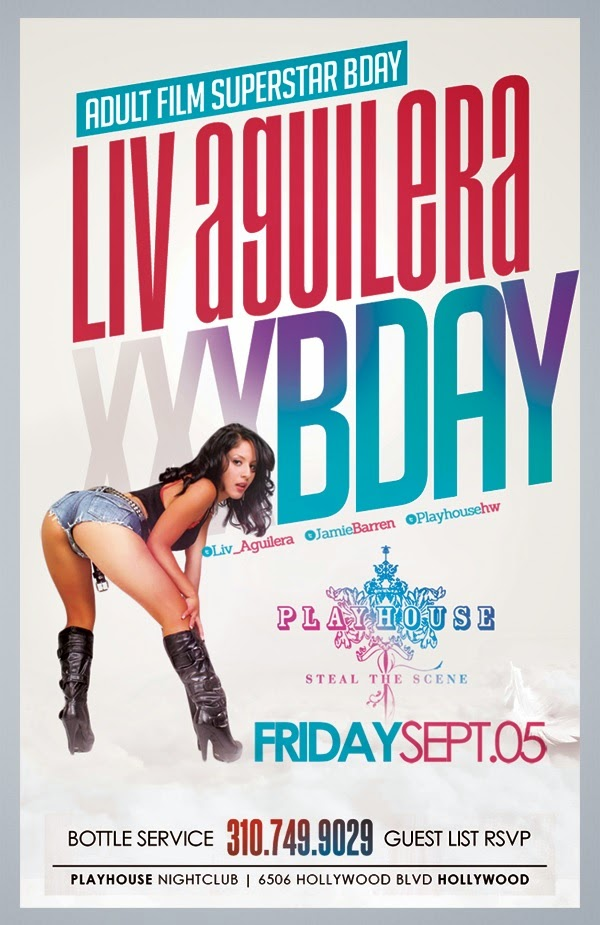 """Adult Star Liv Aguilera Birthday at Playhouse Nightclub"""