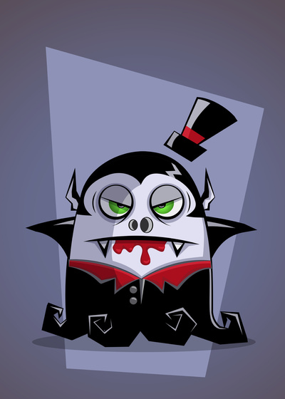 vampire vector cartoon