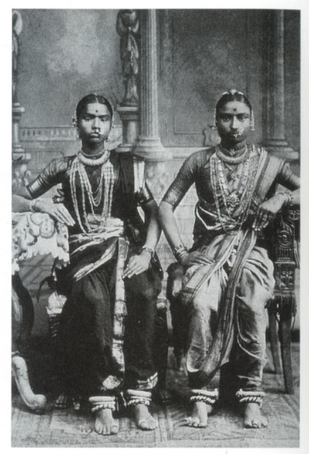 Two Devadasis - Tamil Nadu South India 1920's