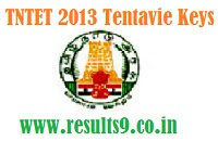 TNTET 2013 Tentative Answer Key