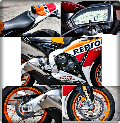 Spesifikasi Eksterior Honda CBR1000RR SP 2015