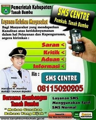 Tanah Bumbu SMS Center