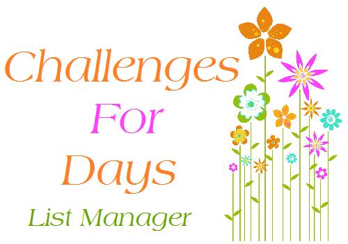 CHALLENGES FOR DAYS - LIST MANAGER