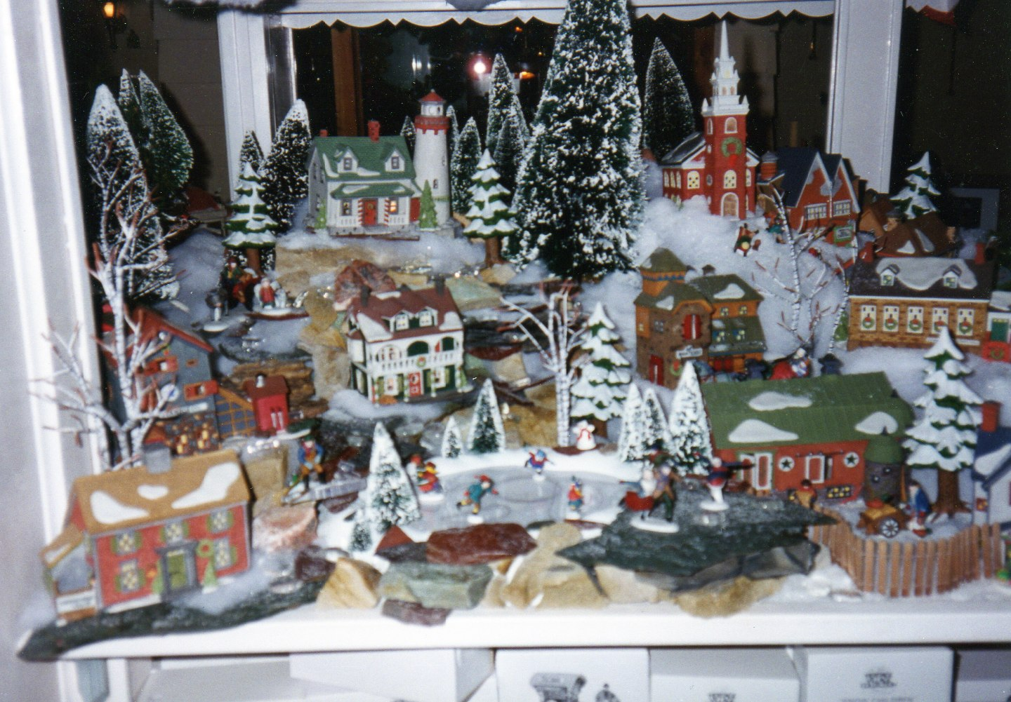 Home Design Image Ideas: christmas village display ideas