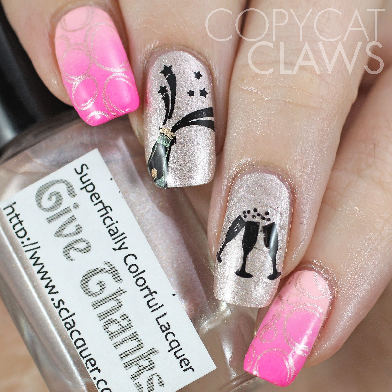 Copycat claws big little lies inspired nail art prinsesfo Choice Image
