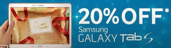 GET GALAXY TAB S FOR THIS NEW YEAR